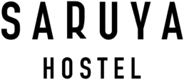 Saruya Hostel Logo Black